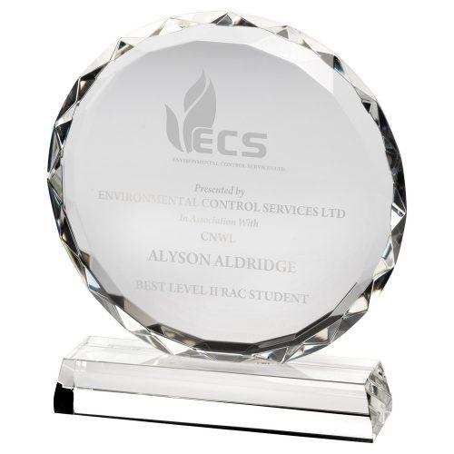 LCG5 Glass Trophy